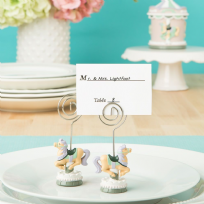 Carousel Horse Place Card Holder